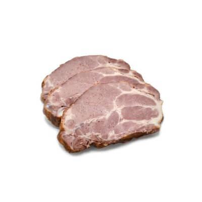 Ceafă de porc afumată