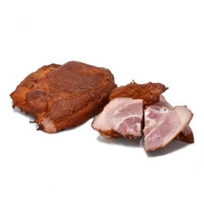 Coasta spata cu carne afumată